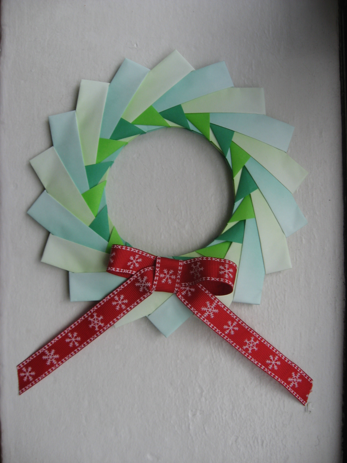 Origami Christmas Wreath – Koto - photo#18