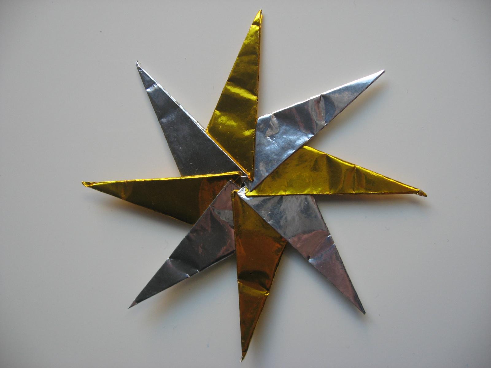 origami 8 star