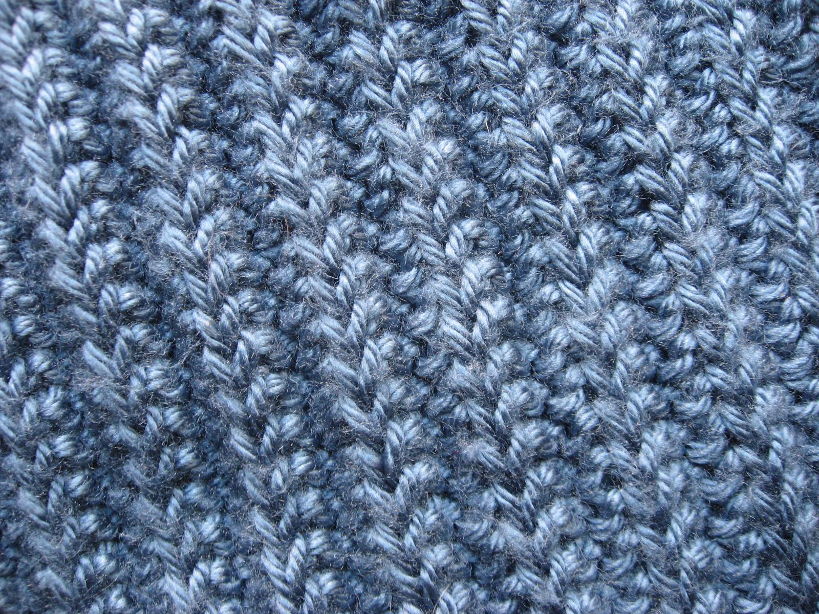 Basic Knit Stitch Left Handed : Simple Blanket   Koto