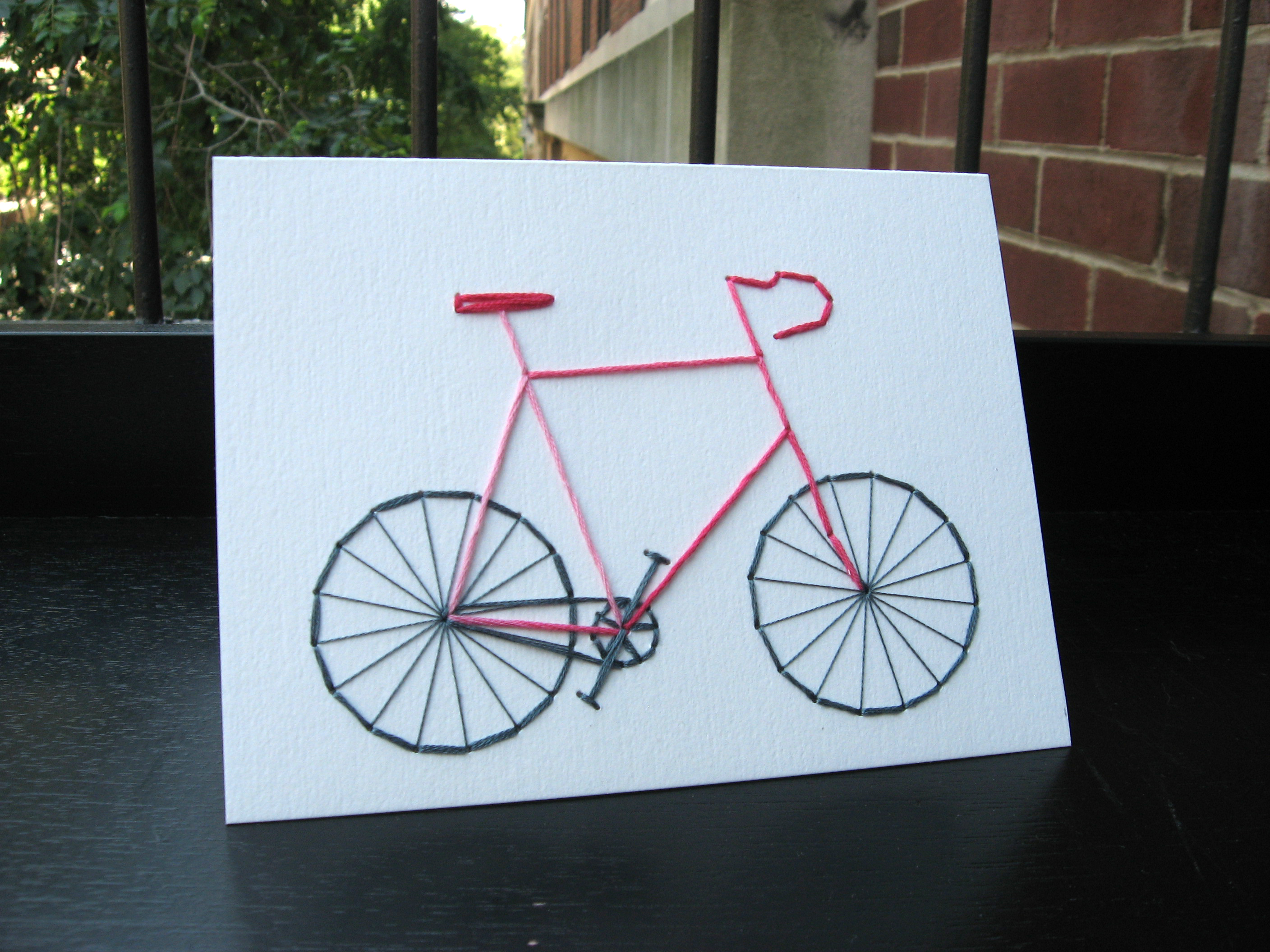 Bike Birthday Card Koto – Bicycle Birthday Cards