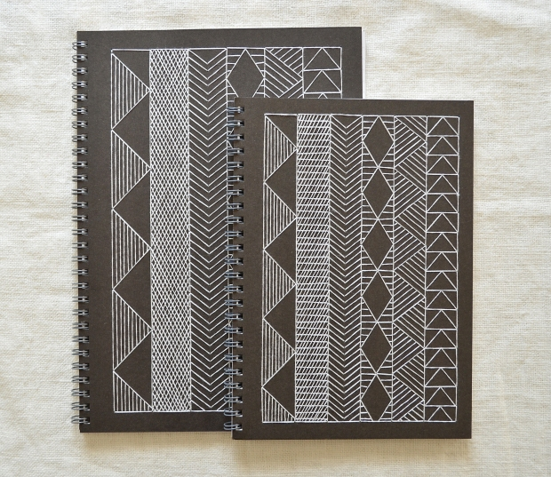 geometric-african-pattern-embroidered-notebook-burkina-faso-black-white-05