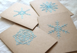 Snowflake Card Set