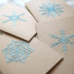 Snowflake Card Set