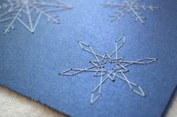 Snowflake Card Detail